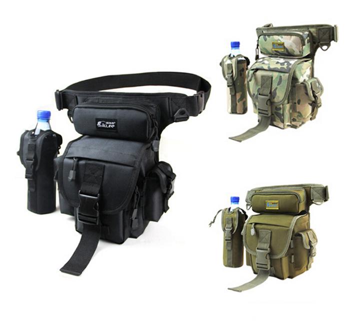 Multifunctional Waterproof Fishing Bag Outdoor Waist Pack Messenger Water Bottle - discover fun store