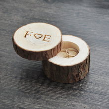 Custom Ring Box wedding/valentines wooden ring box Wood Anniversary Ring Box 3 styles(China (Mainland))
