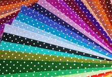 Lowest price Mix 44 colors 15x15cm 100% Polyester Nonwoven Dot Printed Felt Fabric DIY Pack 1MM Thick 4 - YUYING FASHION FABRIC & ACCESSORY CO.,LTD store