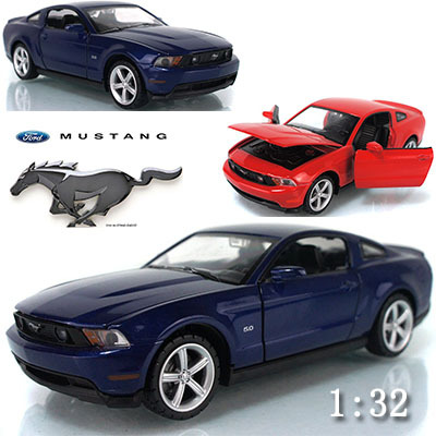 1:32 :Ford Mustang alloy model car flashing and light pull back toys Collection furnishings(China (Mainland))
