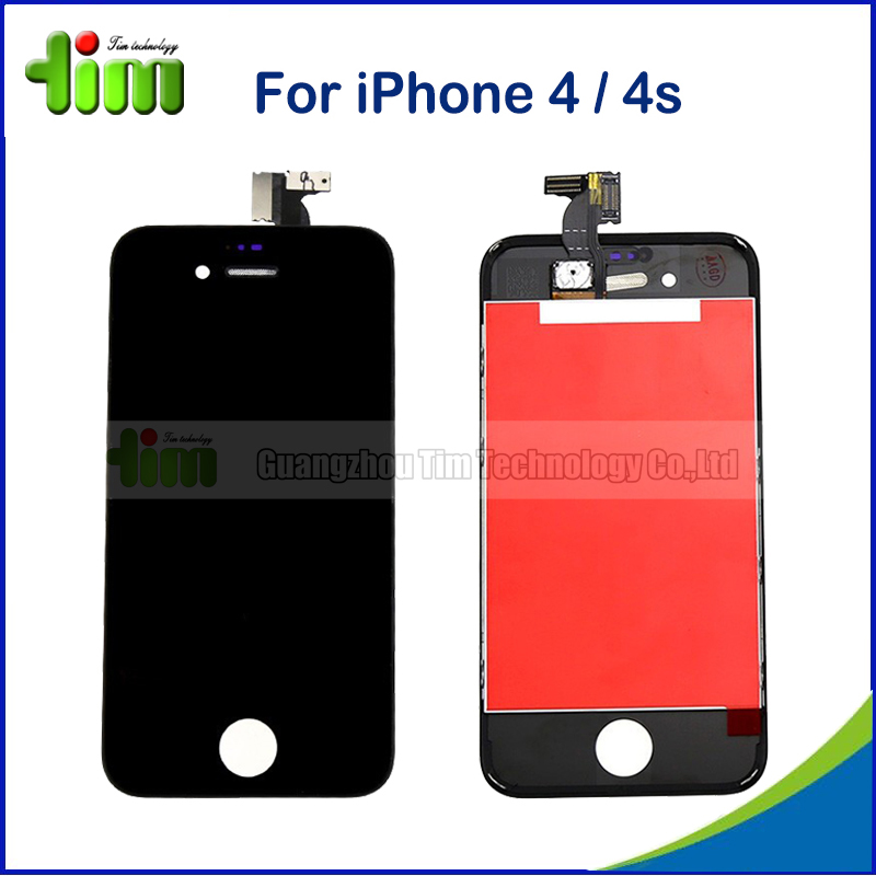 20pcs Grade AAA LCD Display for iPhone 4 4s Touch Screen Digitizer For iPhone 4 4G 4S Replacement(China (Mainland))