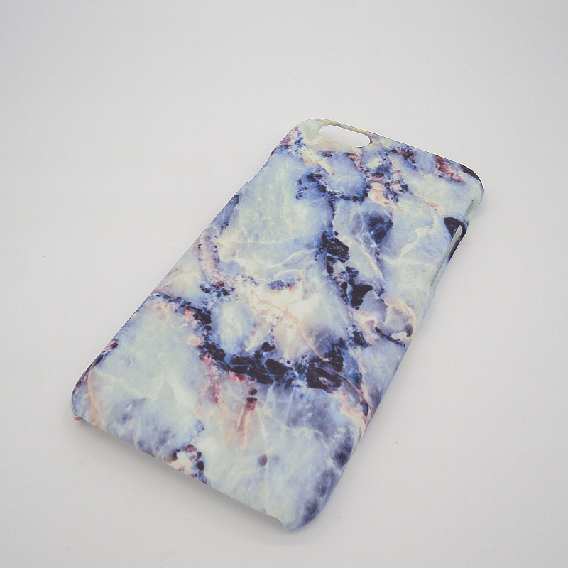 2016 Hot Selling Blue Marble Rock Stone Texture Customs Style Hard Back Cover Case Caso for iPhone 6 6s 6 plus 6s plus 5s(China (Mainland))