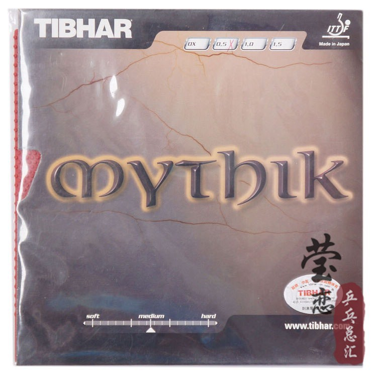Original Tibhar MYTHIK long pimples table tennis rubber and OX only rubber no sponge table tennis rackets racquet sports weird(China (Mainland))
