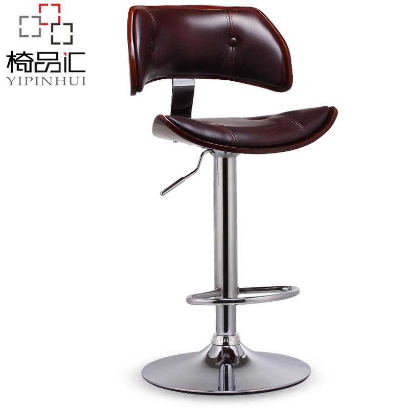 Front lift barstool bar stool chairs minimalist silver tall chair<br><br>Aliexpress