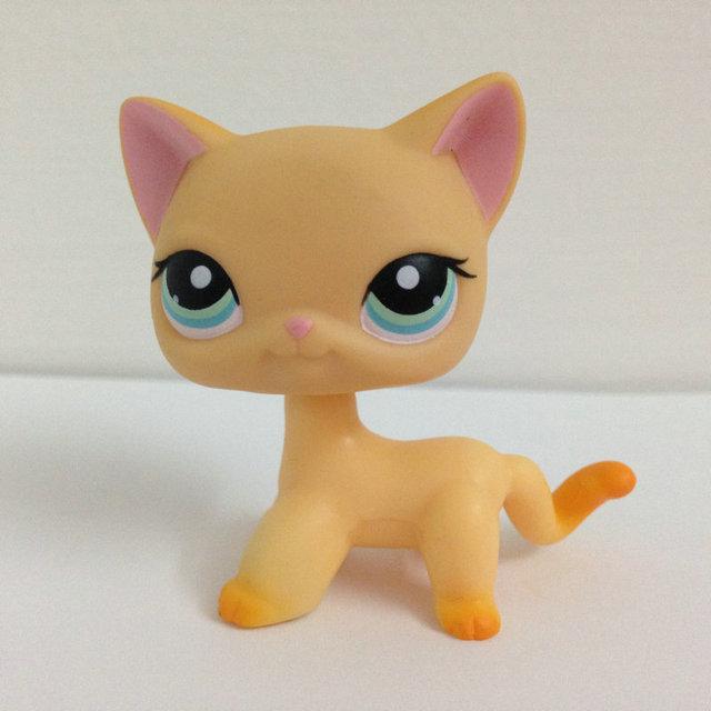 LITTLEST Животные PET Короткие Волосы Коллекция Рисунок Для Девушка Кошка DWA900