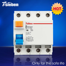 Бренд завод ID модель узо 230 / 415 В остаточного тока автоматические выключатели электромагнитная 4 P 40A 30mA ELCB SE01-1