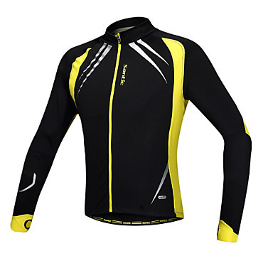 Santic Spandex+Fleece Men Long Sleeve Windproof Jacket with Special Design for holding Hands C01023Y(China (Mainland))