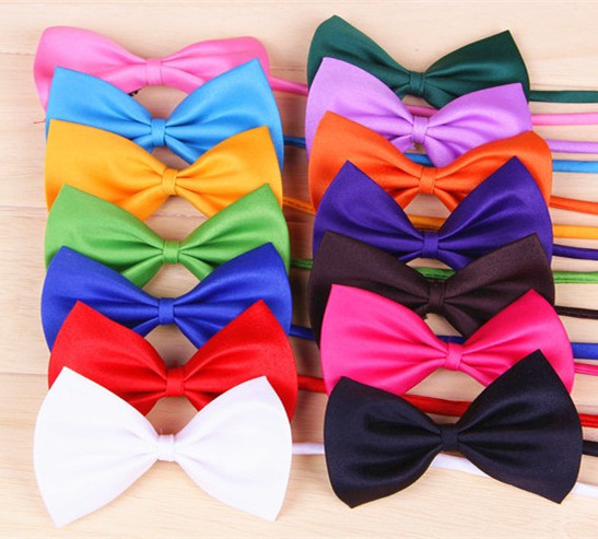 Adjustable pet Dog bow tie cat Necktie Cheap Wholesale children tie(China (Mainland))