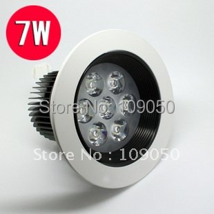 7W led celling light,dimmable led downlight, high power led ceilling lighting ,Warranty 2 year,SMDL-5-006