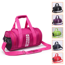 2015 New Men Women Outdoor Sport Bag Travel Luggage Bag Fitness Gym bag Waterproof Large Capacity Shoulder Handbag 6 Colors