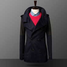 men wool coat F19