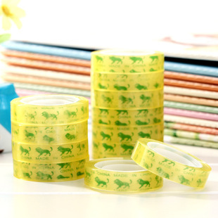 Transparent small tape office adhesive Stationery Scotch T2551  -  Sue Sui's Club store