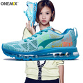 Women Running Shoes Run Athletic Trainers Woman Sky Blue Zapatillas Deportivas Sports Shoe Air Cushion Outdoor