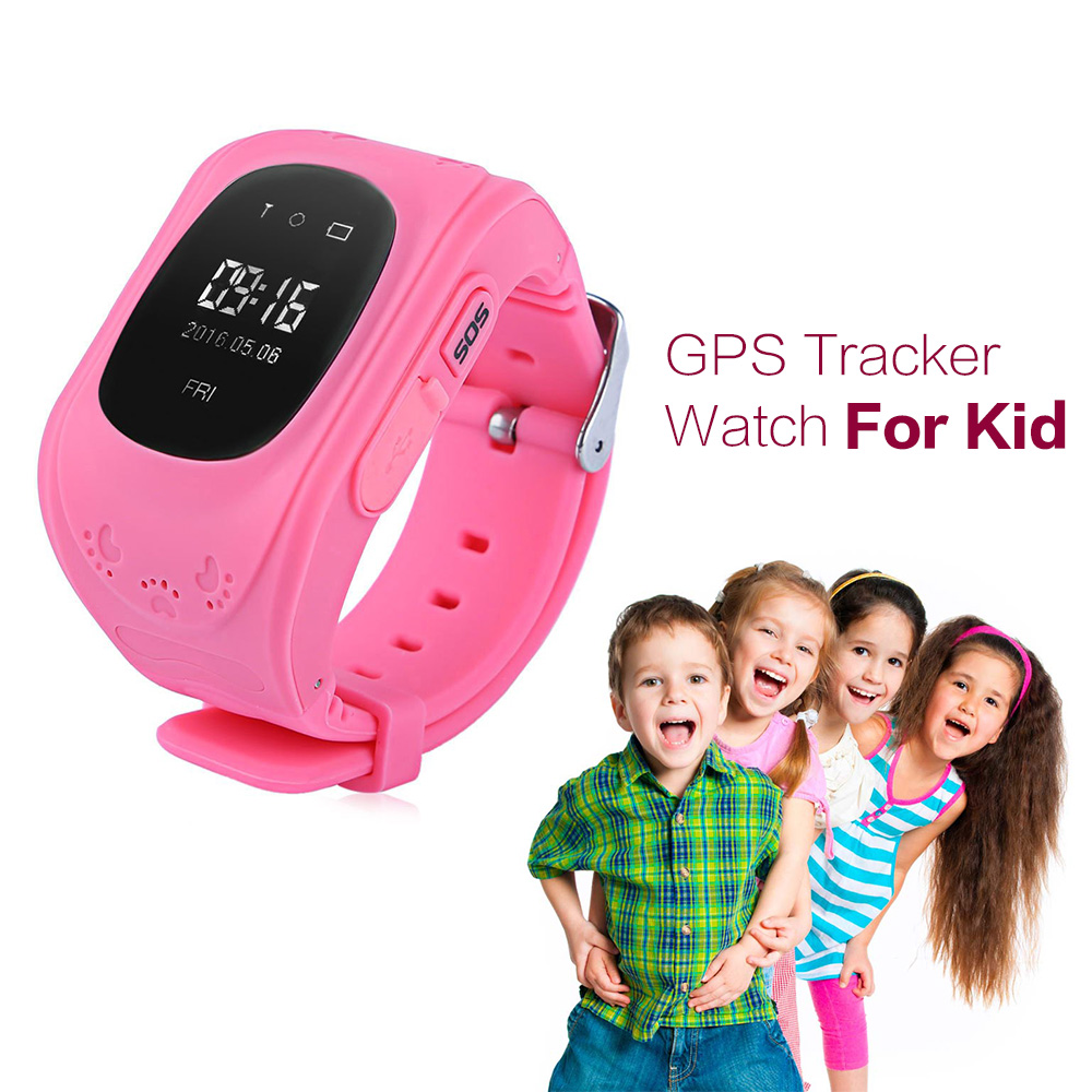 New Smart Phone Watch Children Kid Wristwatch Q50 GSM GPRS GPS Locator Tracker Anti-Lost Smartwatch Child Guard for iOS Android(China (Mainland))