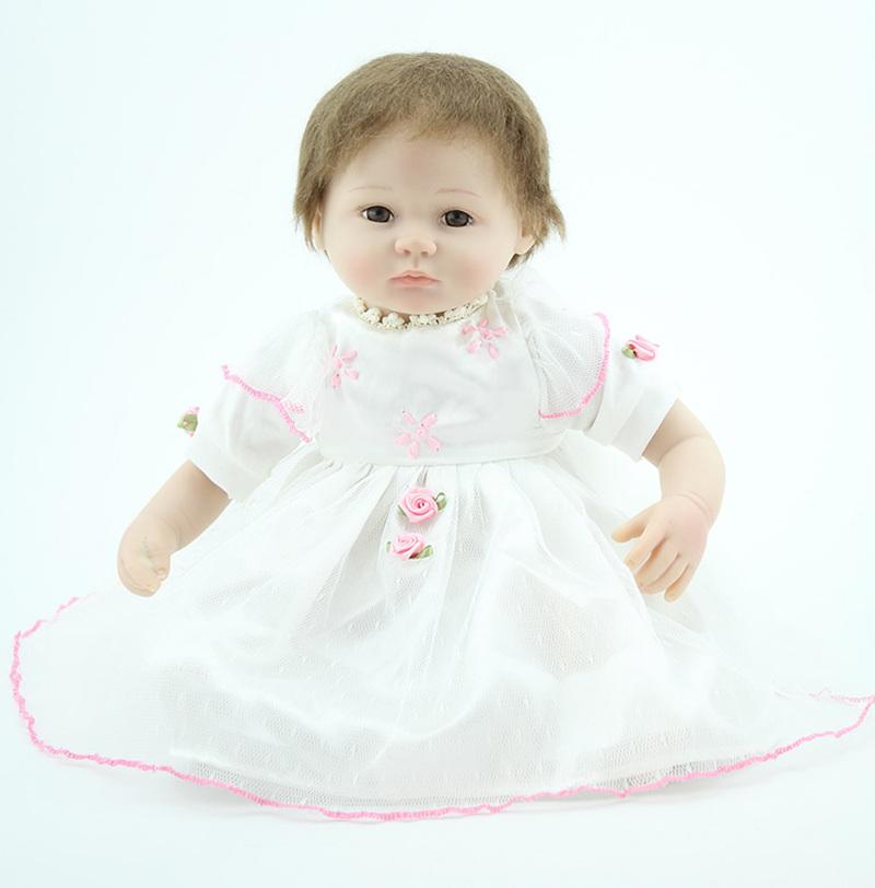 18 inch baby doll, artificial newborn doll, girl gift toy doll<br><br>Aliexpress