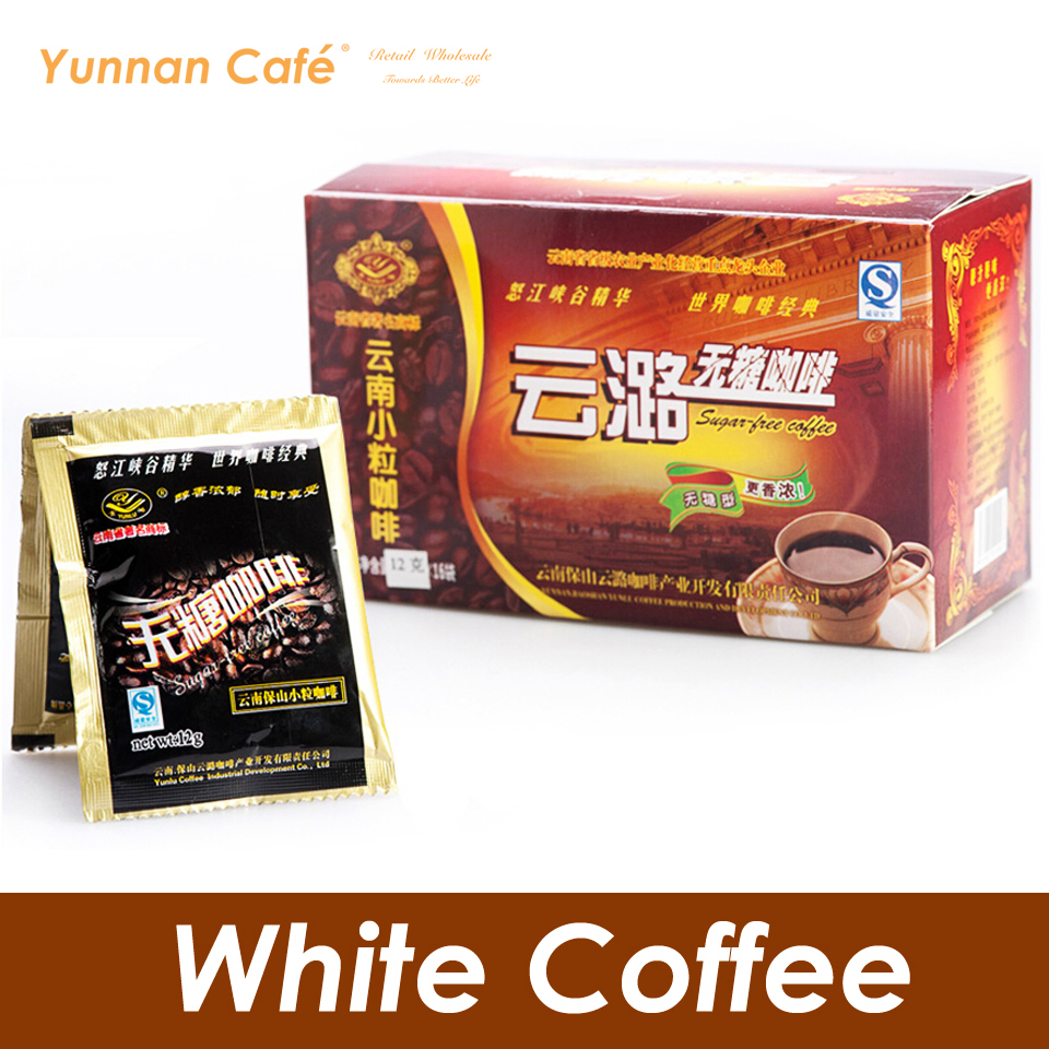 YunLu 2 IN 1 Instant White Coffee Add Creamer Without Sugar 12G x 16PCS 192G 0
