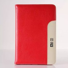 2016 luxury leather Case Cover For xiaomi mipad 2 stand case for xiaomi mipad 7.9 for xiaomi mipad2 Card Wallet free shipping
