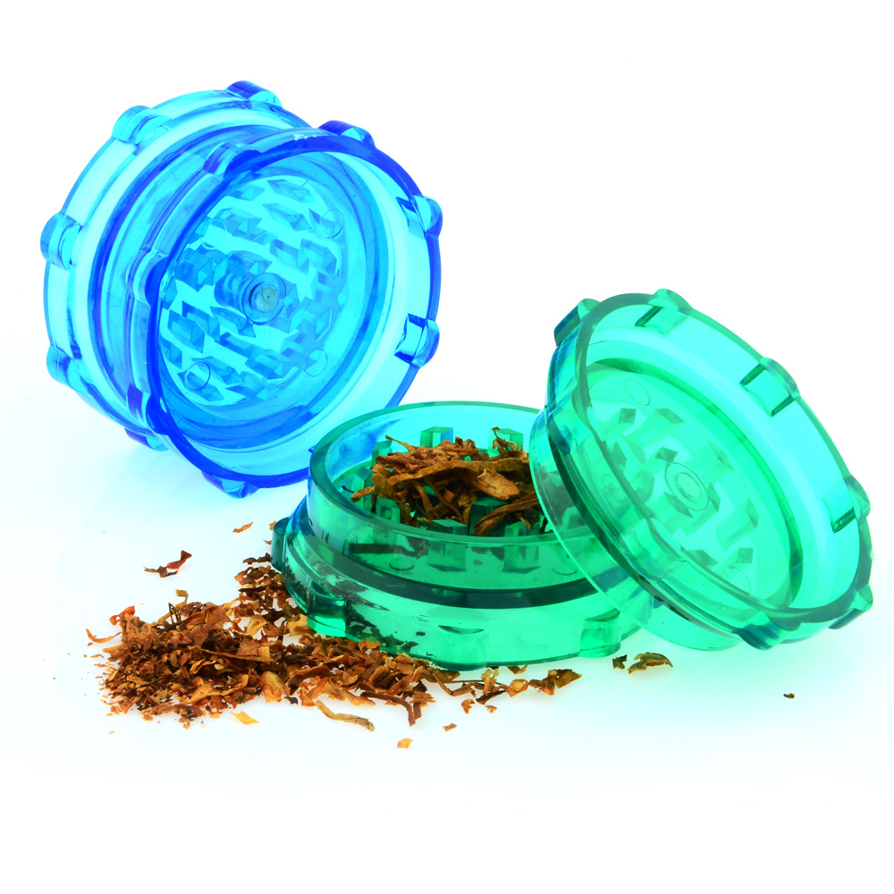 how to clean a plastic herb grinder