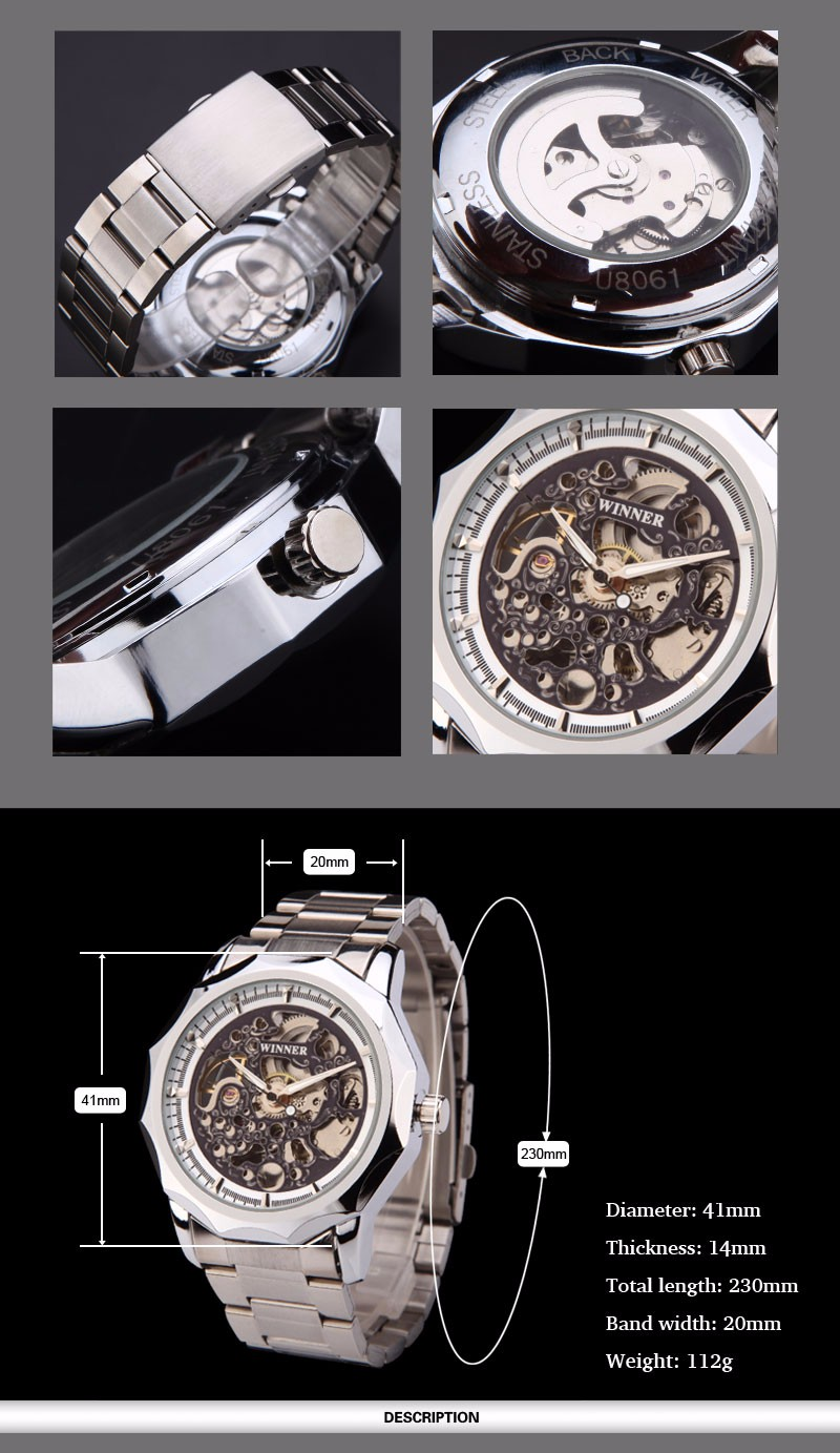 Automatic wind mechanical watch