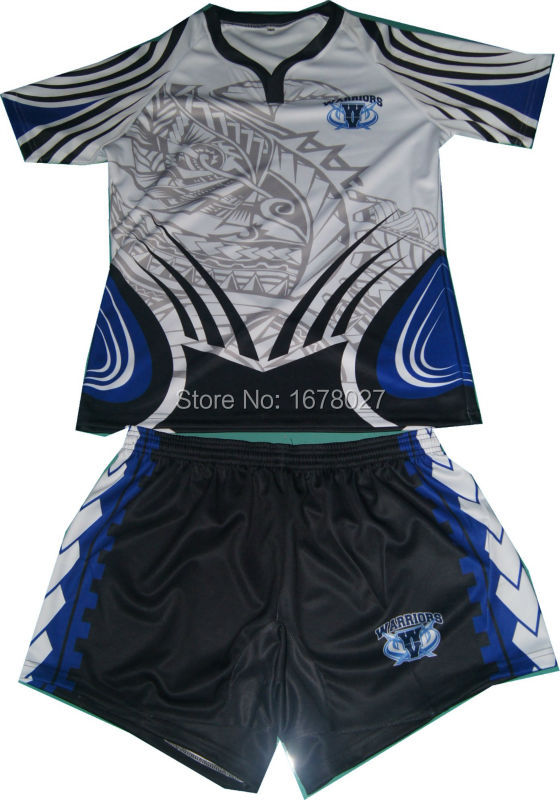 high quality custom rugby jersey/ cheap blank wholesale rugby shirts(China (Mainland))
