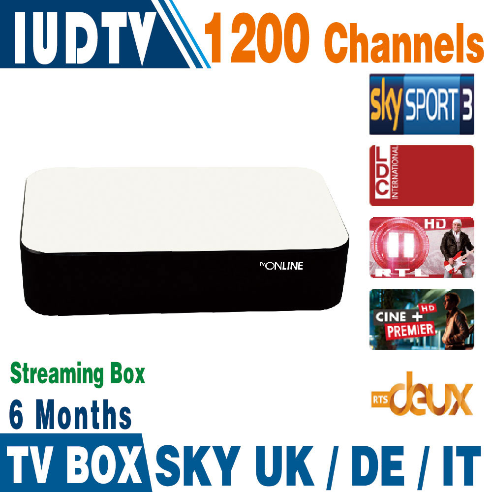 Mag254 Mag250 Streaming IPTV Box 6 Months 1200+ Italy Spanish IPTV Channels Server Inside Streaming Box Streaming Media Player<br><br>Aliexpress