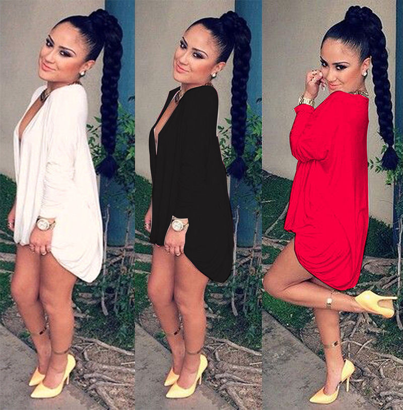 2015-Summer-Style-Black-White-Red-Long-Women-t-shirt-Dress-Clothing-Maxi-harajuku-Cross-Punk
