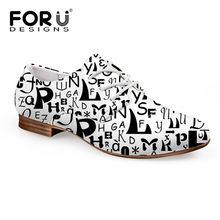 FORUDESIGNS Thời Trang Nữ Đơn Giản Thoải Da Oxford cho Nữ In Hoa Người Phụ Nữ Mộc Mạch Trà Ba Lê Bãi Zapatos Mujer(China)
