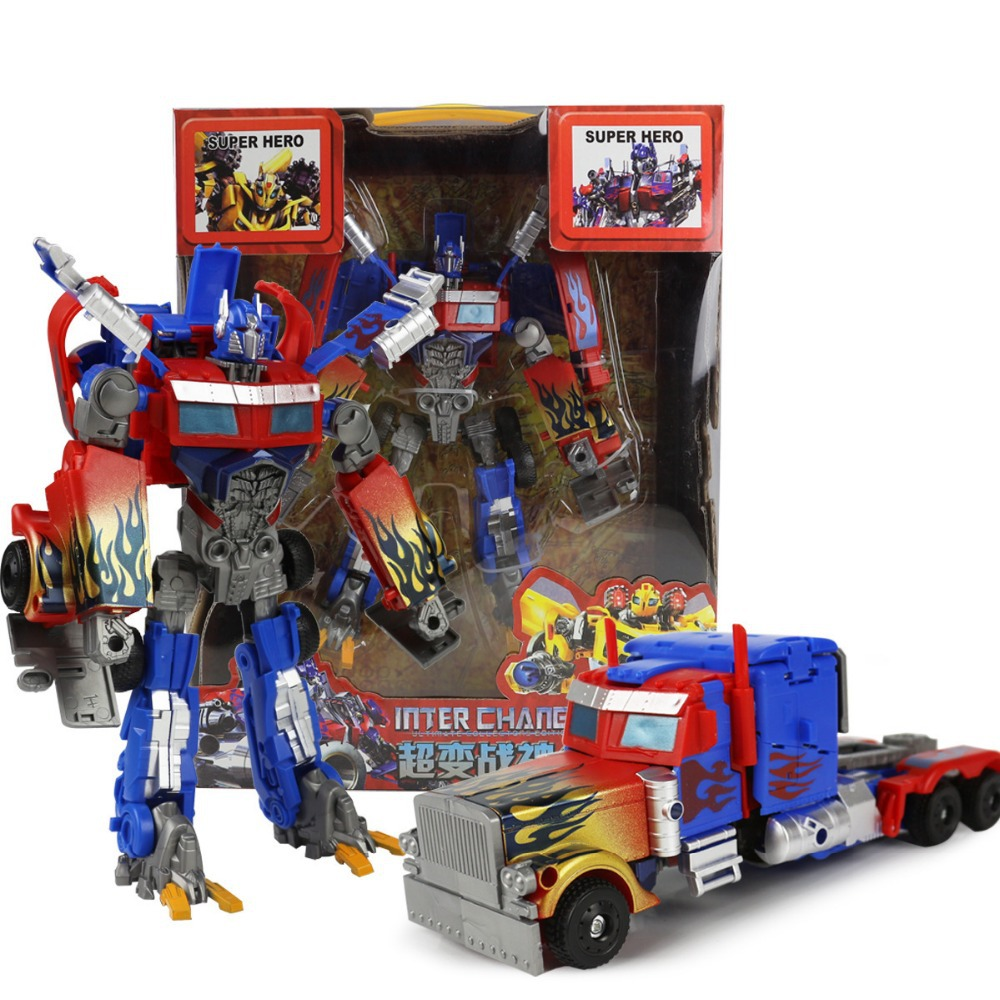 Newest Design Transformation 4 Optimus Prime Bumblebee Deformation Robots Action Figures Classic Toys for Xmas Christmas gift(China (Mainland))