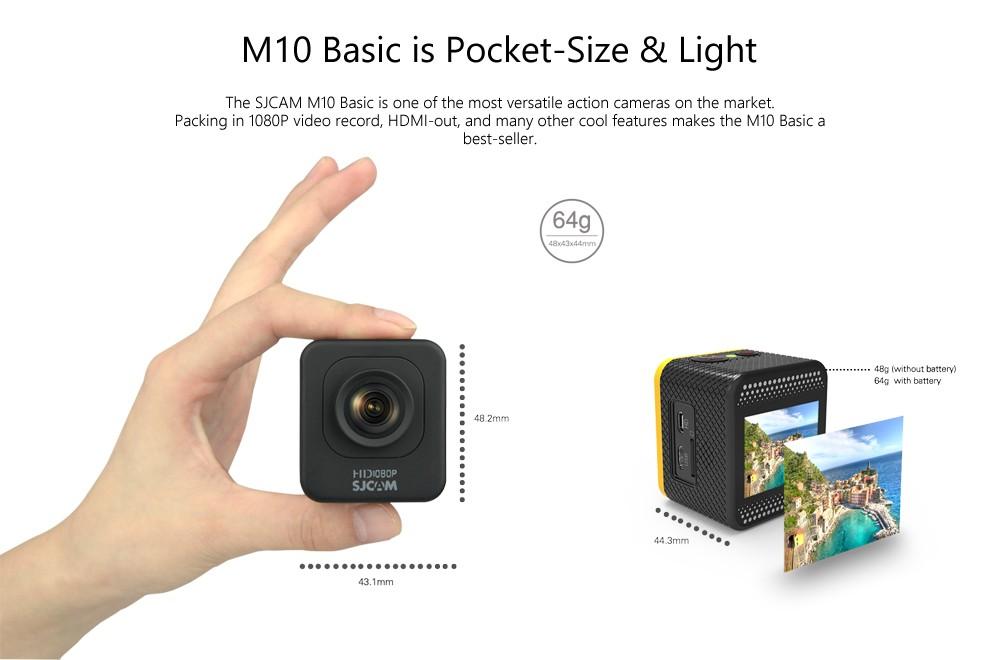 ถูก ต้นฉบับSJCAM M10การกระทำกล้องHD 1080จุดDVกีฬา1.5จอแอลซีดี12MP CMOSขนาดเล็กกล้องดำน้ำ30เมตรกันน้ำกล้องDVR sj m10เวบแคม