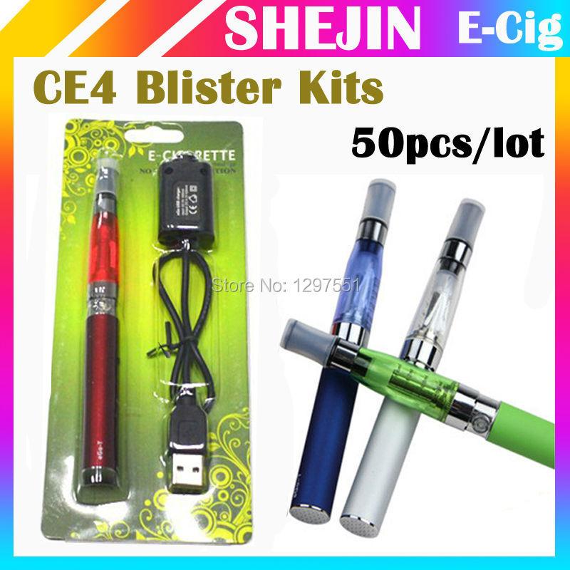 CE4 eGO 650 /900 /1100mah CE4 t 50pcs/lot CE4 blister kits
