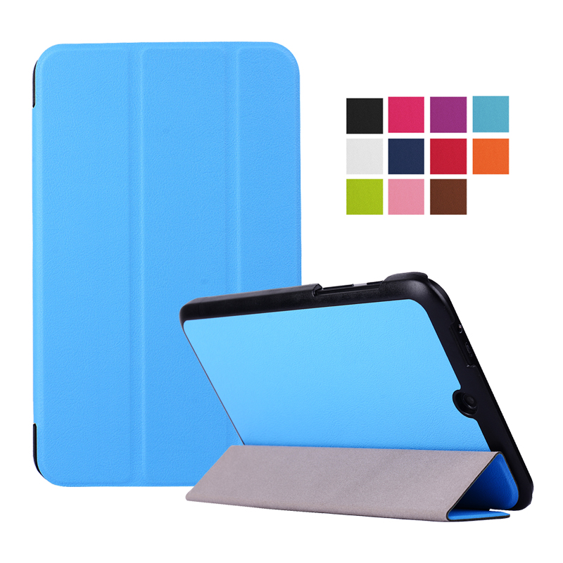 "Hot selling 2015 New! Luxury Tri-Fold Ultra Slim Stand Case Cover For 8"" HP Stream 8 Tablet PC 1PC(China (Mainland))"