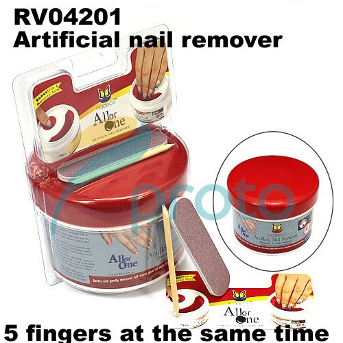 All or One Artificial Nail Remover with mini file and manicure stick nail tools Dropshipping [Retail] SKU:F0094(China (Mainland))