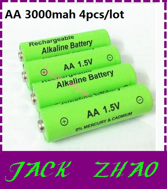 Quality aa rechargeable battery 3000mah 1.5v Alkaline baterias Flashlight MP3 batteri Toy can 12v(8pcs) - WE Need it! store