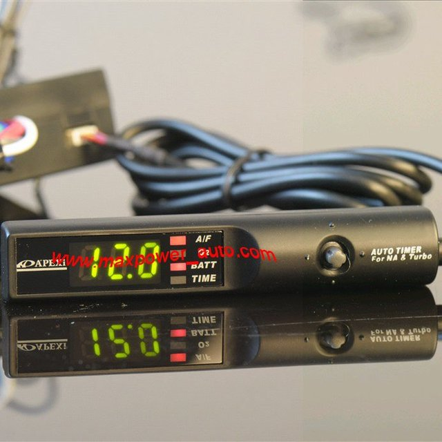 Wholesale Universal 12V auto Digital Turbo timers(black with green led)