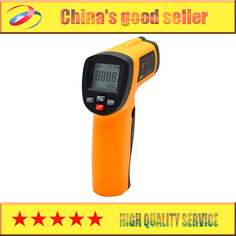 Big Discount! Non-Contact LCD IR Laser Infrared Digital Temperature Thermometer Gun Point GM320 -50~330 Degree B2 14740(China (Mainland))