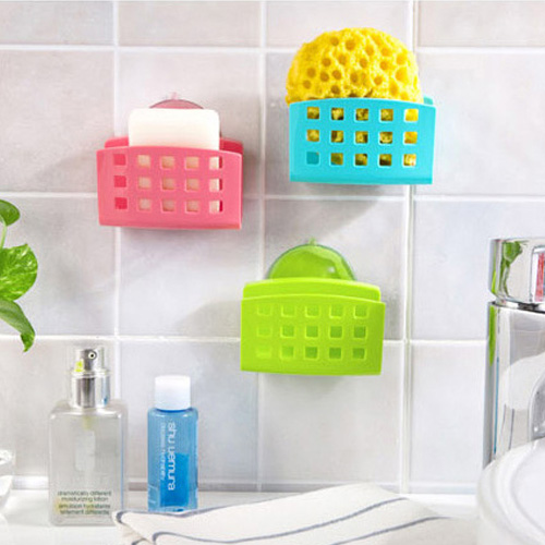 Brilliant  BathroomCornerStorageRackOrganizerShowerWallShelfwithSuction