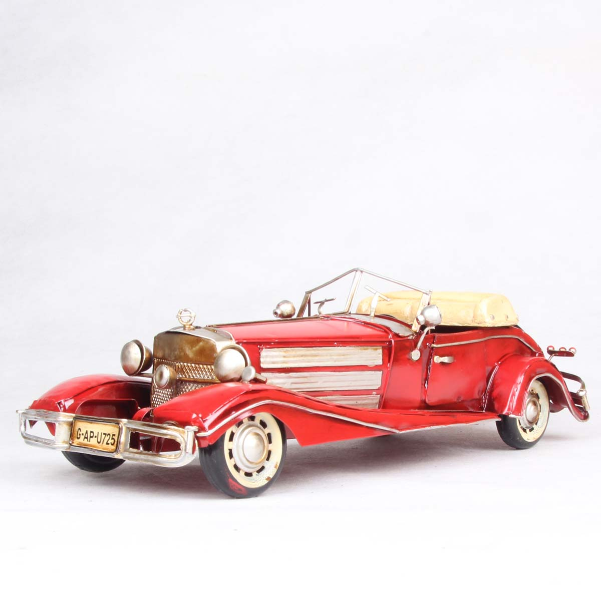 Iron red classic cars model of the gift birthday gift memorial gifts wedding gift(China (Mainland))