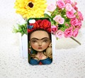 frida kahlo lisa White Hard phone Case Cover for iPhone 4 4s 5 5s 5c 6