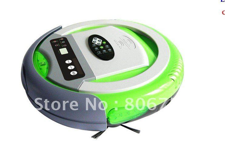 Infinuvo Cleanmate QQ /Automatic Vacuum Cleaner Remote Control, Auto Recharging, UV Light Disinfection, Air Flavoring(China (Mainland))