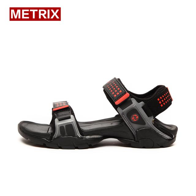 Подлинная летние новые сандалии мужчины нескользящей дышащий тапочки удобная мода ...