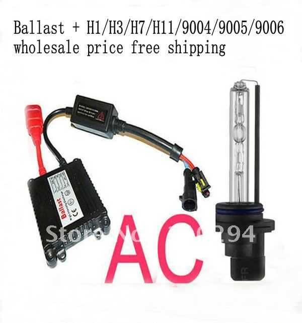 high power 1set H1 H3 H7 H11 9004 9005 9006 HID KIT SET XENON SYSTEM 35W/HID H1,3,7,11 ,9004(China (Mainland))