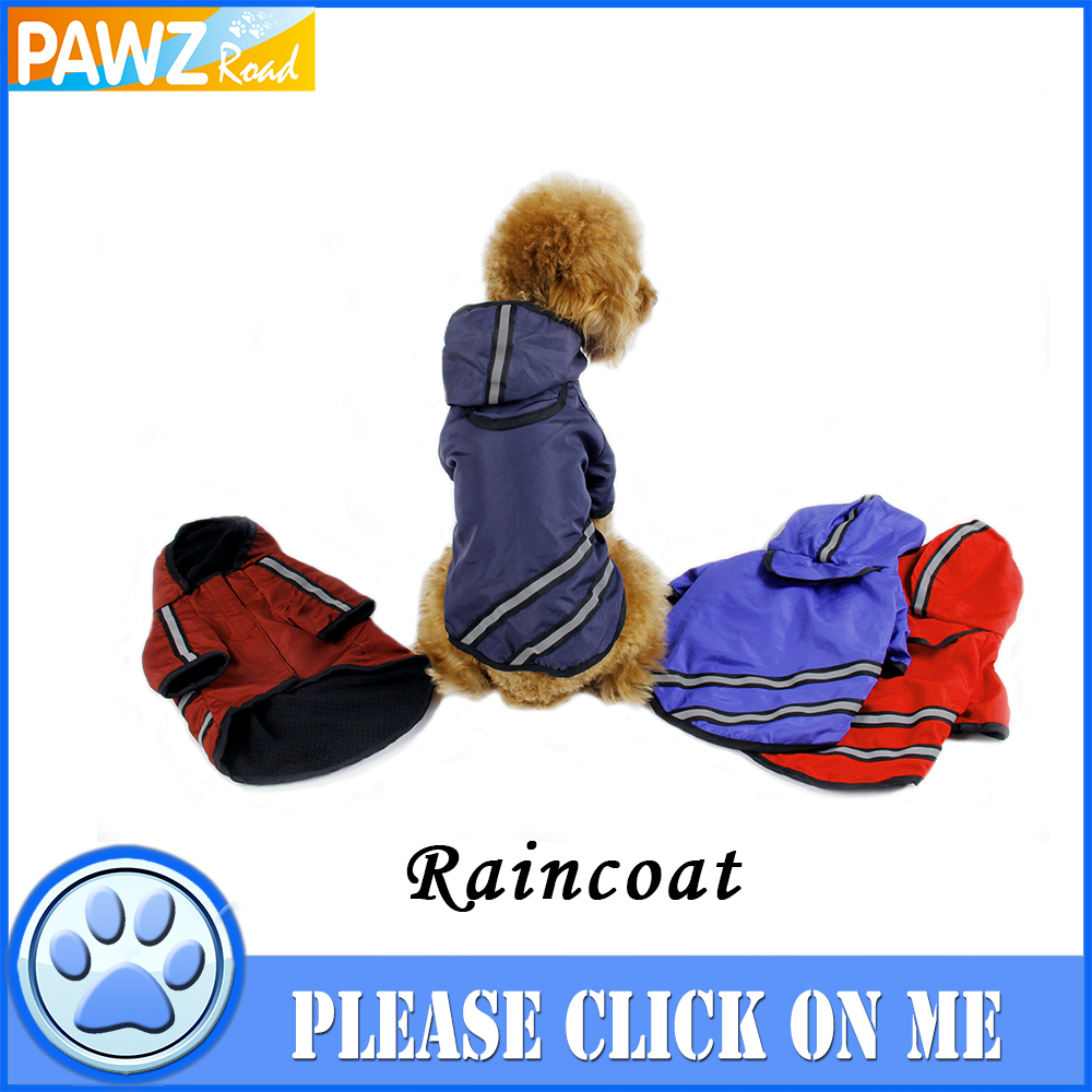 New Arrival Dog Clothes Dog Raincoat Pet Clothing Apparel Pet Clothes Puppy Clothing Reflective High Quailty Dog Jacket(China (Mainland))