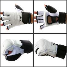 Luva Taekwondo Combates CORPO Protetor WTF Aprovado Mão Esportes de Artes Marciais Luvas de Boxe Guarda Mão Ferramenta de Proteção