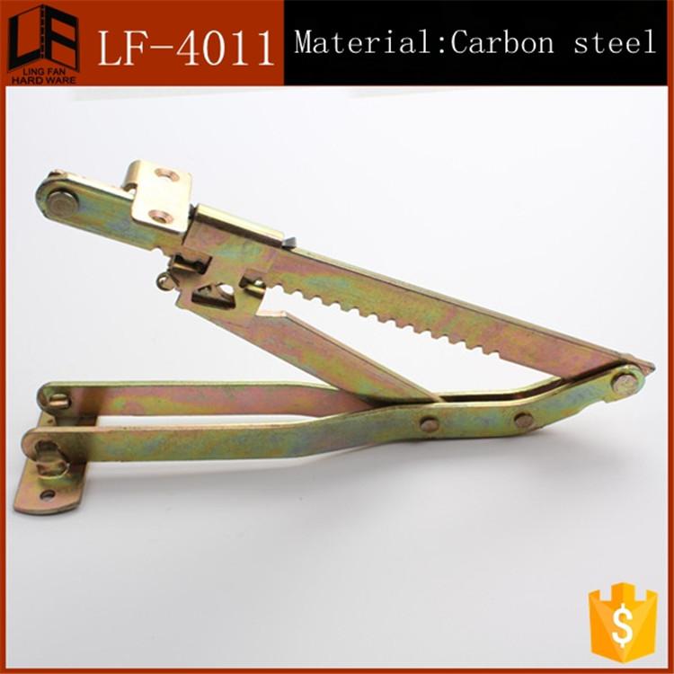 furniture hardware town 18 gear mechanism click clack,metal gear hinge sofa,adjustable hinge for folding sofa bed hinge(China (Mainland))