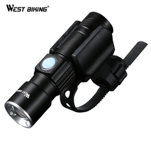 Buy WEST BIKING Bike Light Ultra-Bright Stretch Zoom CREE Q5 200m Bicycle Front LED Flashlight Lamp USB Rechargeable Cycling Light for $8.82 in AliExpress store