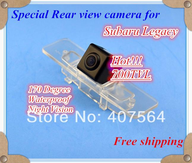 Hot!!! 700TVL Special Car Rear View Reverse back up camera for Subaru Legacy, Free shipping(China (Mainland))
