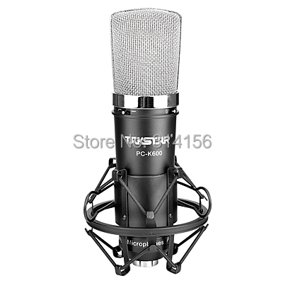 Takstar PC-K600/PC K600 Recording studio microphone for Recording/chat room/broadcasting computer network microphone(China (Mainland))