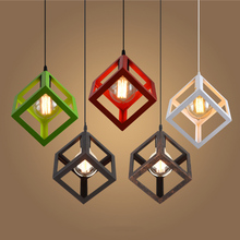 Vintage Cube Pendant Lights