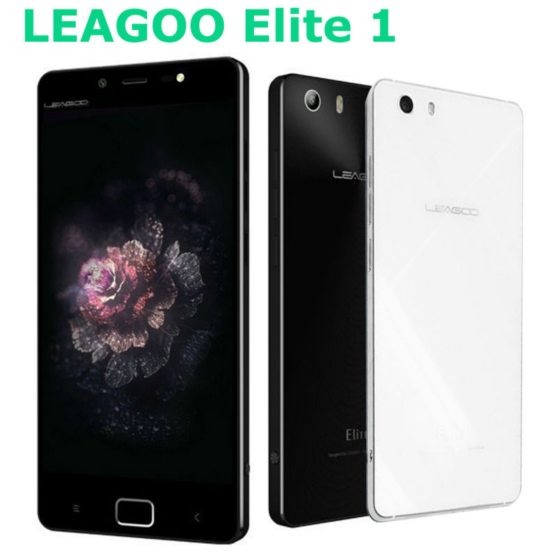 "Original Leagoo Elite 1 Smartphone MTK6753 5.0"" FHD 4G LTE Octa Core Android 5.1 3GB RAM 32GB ROM 16MP+13MP Mobile Phone(China (Mainland))"
