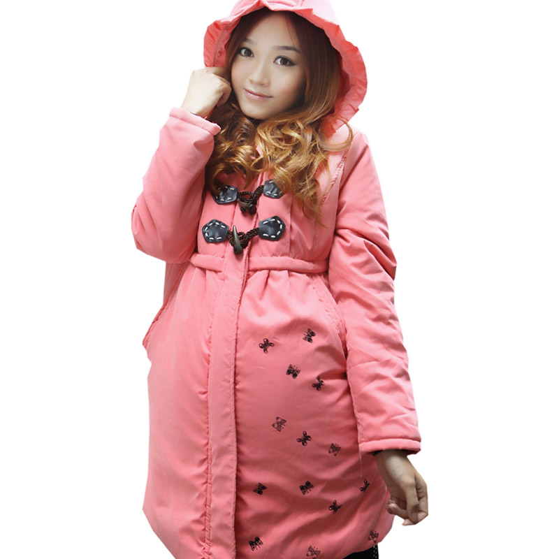 Maternity clothing maternity winter wadded jacket outerwear plus size maternity thickening cotton-padded jacket wool liner 80586<br><br>Aliexpress